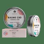 Baume au CBD 1000 mg de CBD – Hempunity