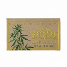 Chewing-gum au CBD à l'eucalyptus
