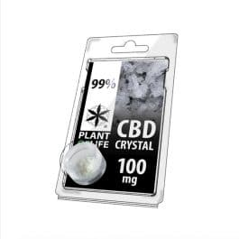 Cristaux de CBD 99% de CBD – 100MG – Plant Of Life