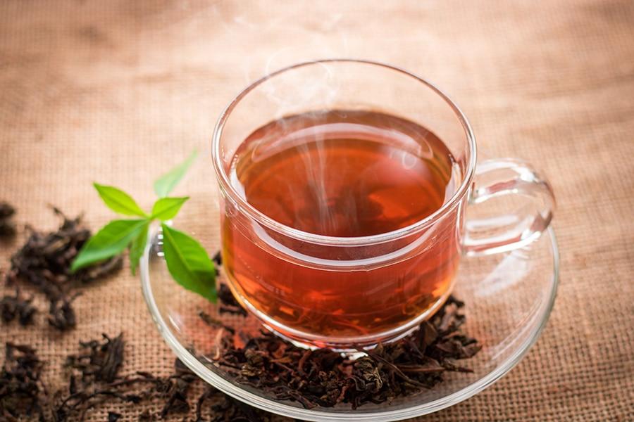Thé au chanvre