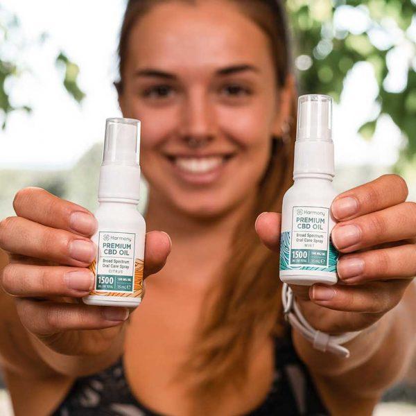 Spray Oral au CBD : Une nouveauté Harmony