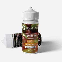 E-liquide CBD goût Mangue – Hempunity